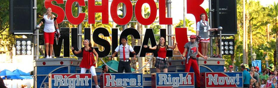 Hollywood studios 187 attractions 187 high school musical 3 pep rally