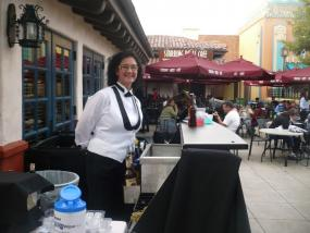 Bar outside Brown Derby