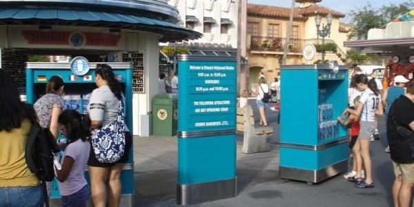 Disney has added another park guidemap kiosk