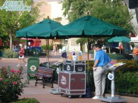 Temporary DVC kiosk