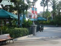 All the Star Wars Weekends tents are down