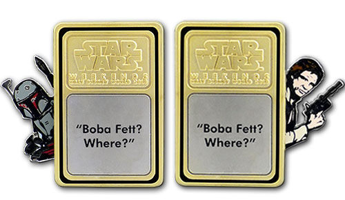 Star Wars™ Weekends 2013 – Han Solo/Boba Fett Pivot Pin