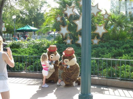 Chip & Dale at the sorcerers hat
