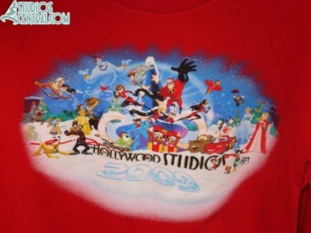 Holiday Hollywood Studios shirt available