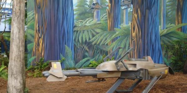 The speeder is back at Star Tours