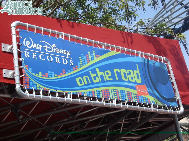 The kids area is sponsored by Walt Disney Records