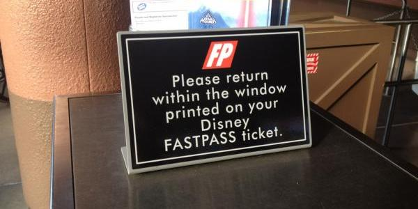New FASTPASS sign rules at Voyage of the Little Mermaid