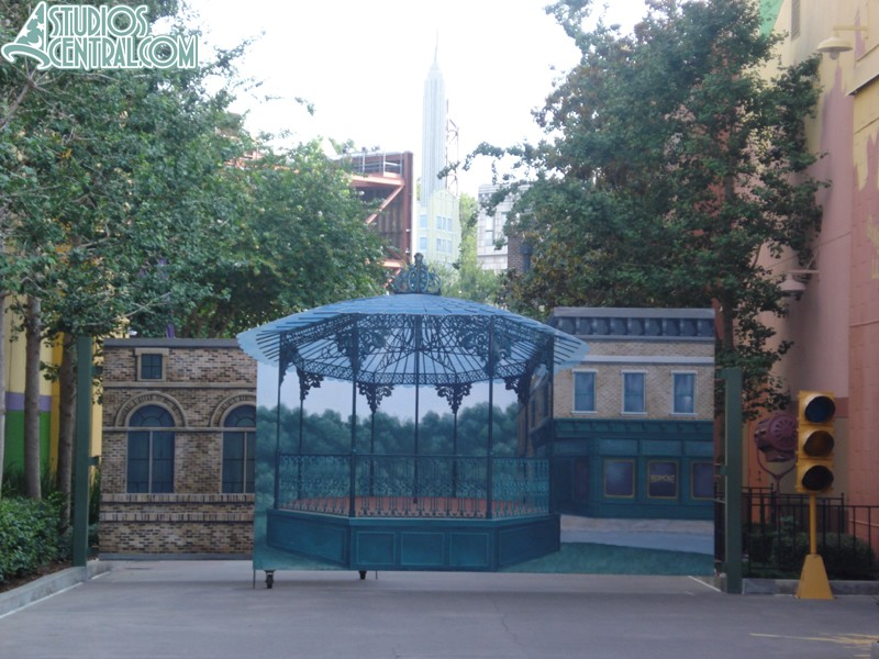 Other side of the gates