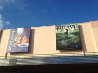New movie billboards in Animation Courtyard