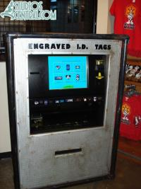 I.D. Tags machine in Tatooine Traders