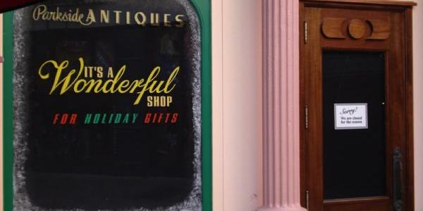 It's a Wonderful shop is closed again