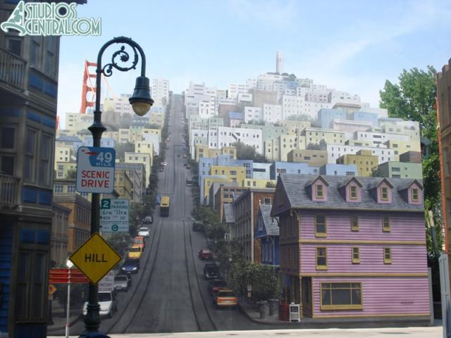 The San Francisco background refurb finished