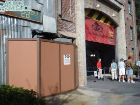 Studios Backlot Tram still out of operation