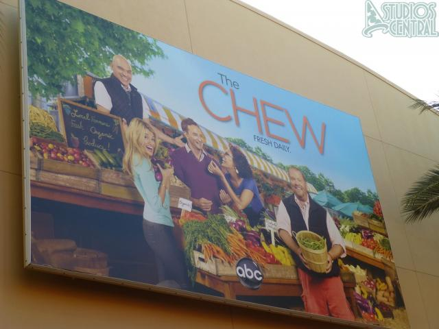 Billboard for the Chew