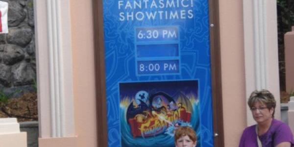 Two showings of Fantasmic!