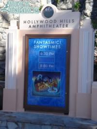 Two showings of Fantasmic! tonight