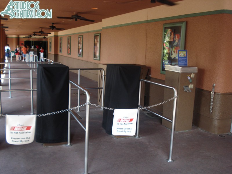 No FastPasses for Voyage of the Little Mermaid