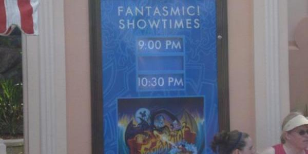 Fantasmic! shows