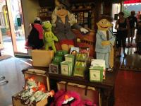 Muppet movie merchandise in Stage One Company Store