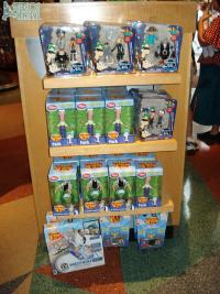 Phineas and Ferb merchandise in Mickey's of Hollywood