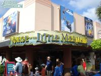 A new Voyage of the Little Mermaid sign