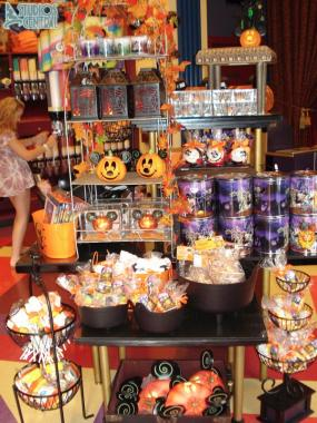 Halloween merchandise in Villains in Vogue