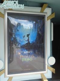 The Princess and the Frog is now showcased at the Magic of Disney Animation