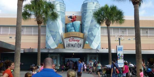 Lots of people going to Magic of Disney Animation