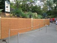 Long queue ready to go at Tower of Terror