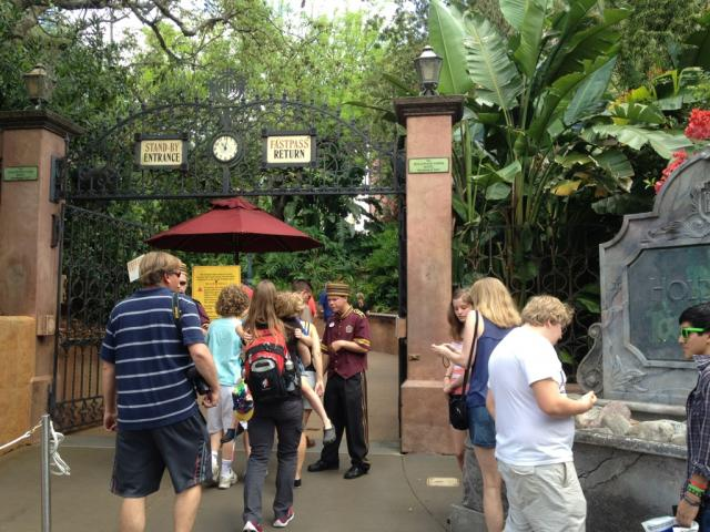 Entrance to Tower of Terror