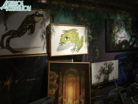 More drawings and paintings from the movie