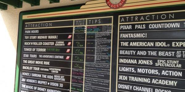 Wait times after 11am