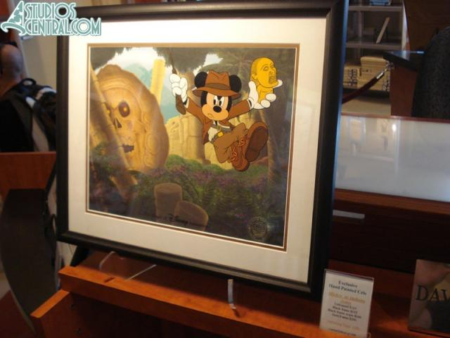 Mickey as Indiana Jones, debuting September 12th