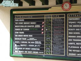 Wait times around 11:00 am.