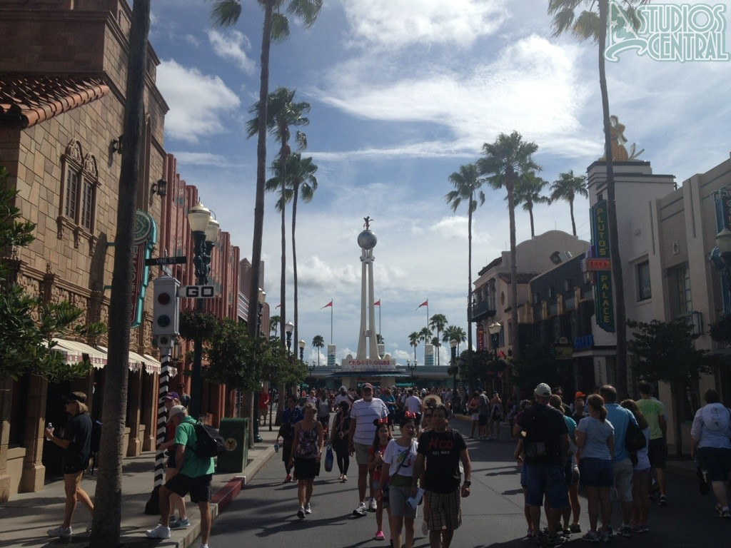 Heading back down Hollywood Boulevard