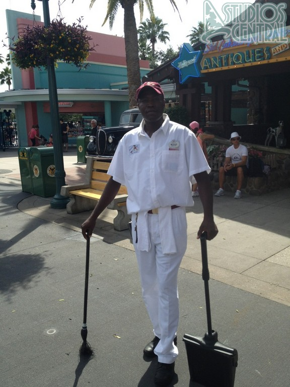New custodial cast member costumes