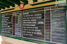 Wait times at 10:45 am