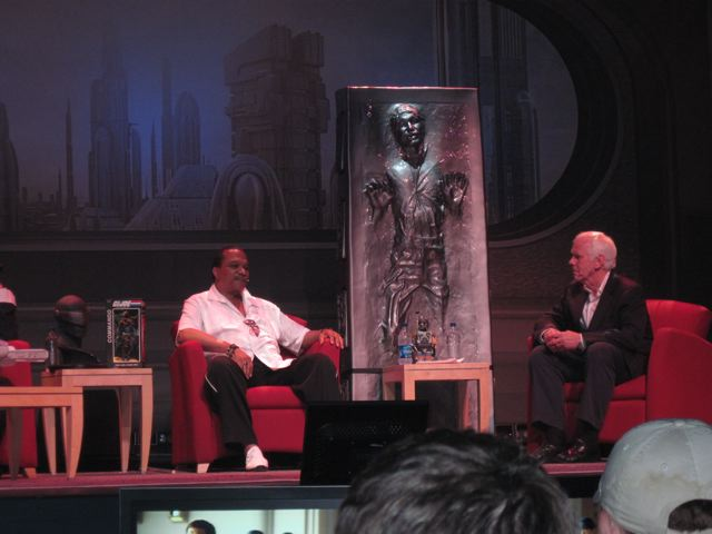 Billy Dee Williams talks to Jeremy Bulloch