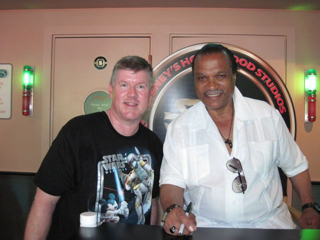 Billy Dee Williams poses for a photo