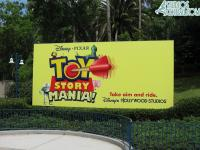 The new sign outside the entrance to the Studios
