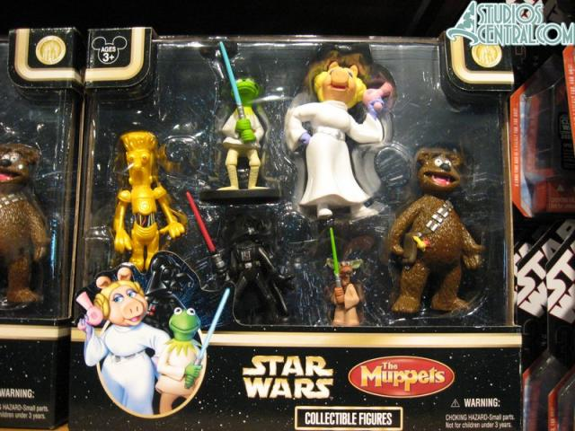 The Star Wars Muppets figurines are finally here....after Star Wars Weekends