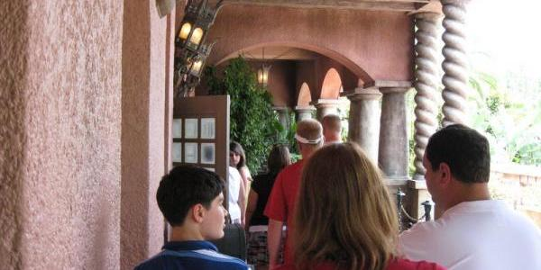 This was the standby wait for Tower of Terror at 2pm