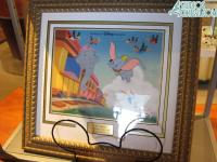 A special Dumbo painted cel for sale in Magic of Disney Animation
