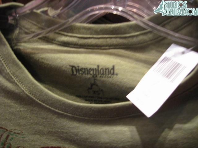 There are some shirts that also have Walt Disney World listed but there are many that have the Disneyland tags in there as well