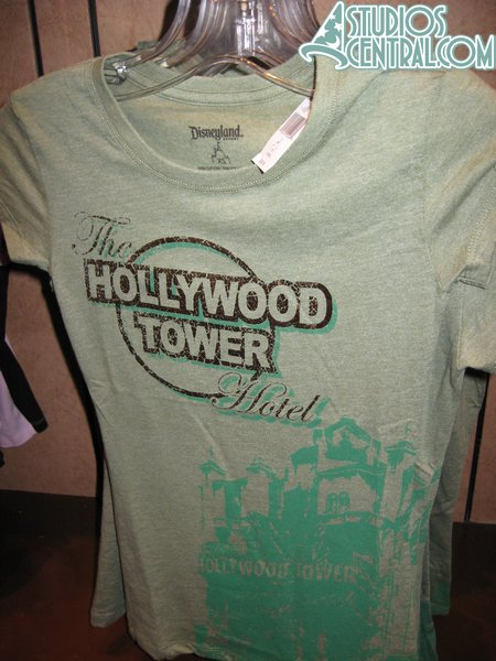And the return of the Tower of Terror shirt from Disneyland