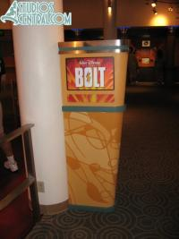 "The ""Bolt"" characters replace the Wall E meet-n-greet area"