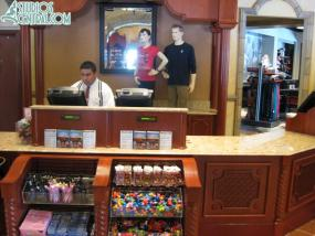 Cash register at Carthay Circle Theater