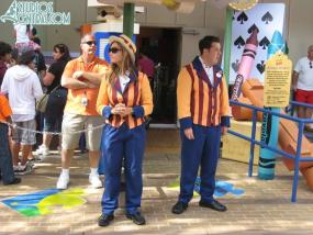 New cold weather Toy Story Midway Mania costumes