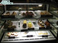 The dessert selection at Starring Rolls Cafe