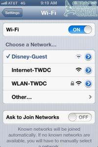 Free Wifi for guests is now available in Disney's Hollywood Studios